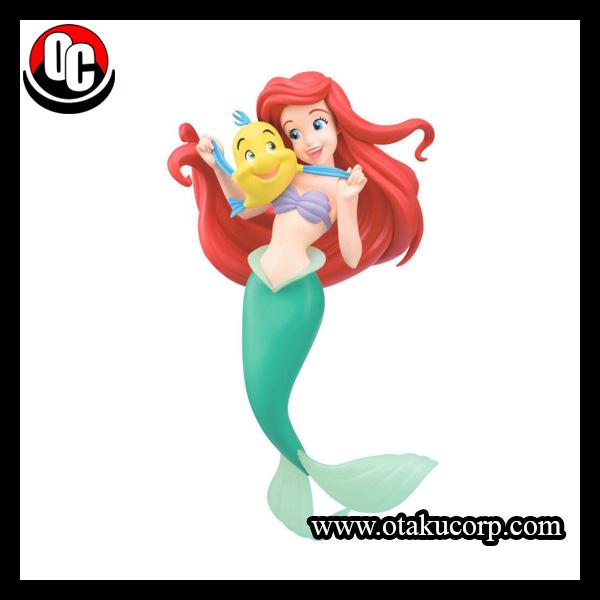 Figurine Disney Ariel Et Polochon 21 Cm